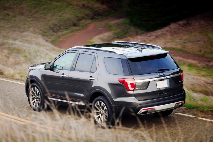 2016 ford explorer specs pictures trims colors - Ford explorer exterior dimensions ...
