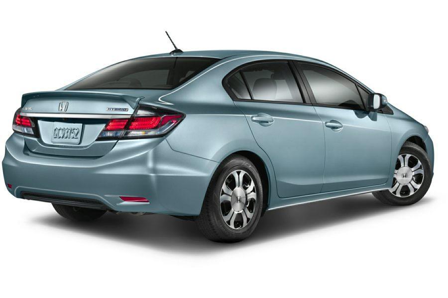 Honda Hybrid Cars >> 2015 Honda Civic Hybrid Overview Cars Com