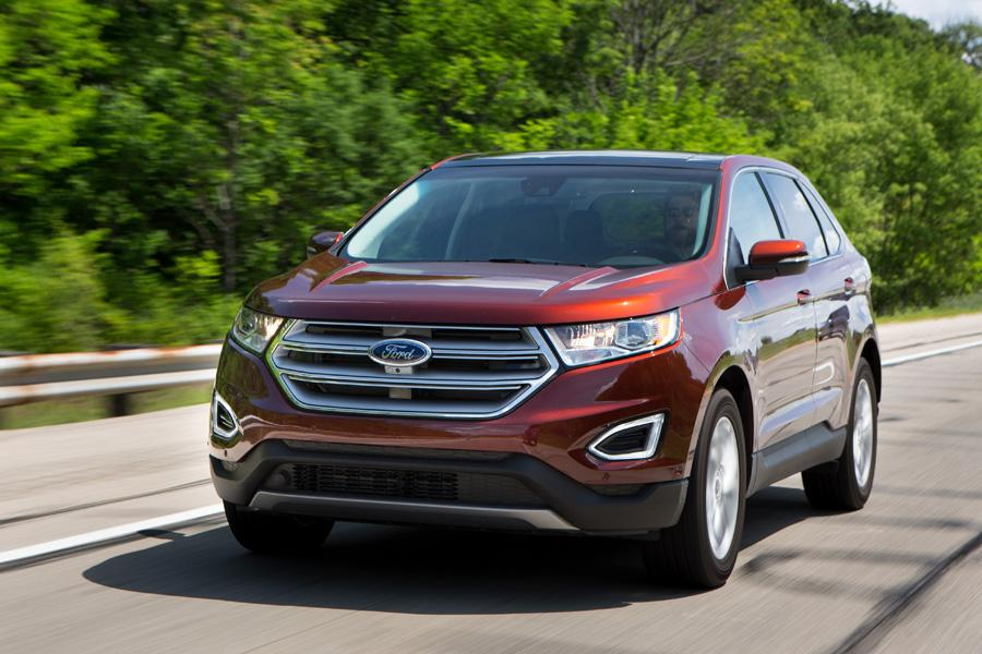 Redesigned 2015 ford edge review consumer reports video for Ford motor company financial analysis 2015