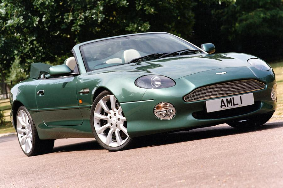 2001 Aston Martin DB7 Vantage Photo 3 of 6