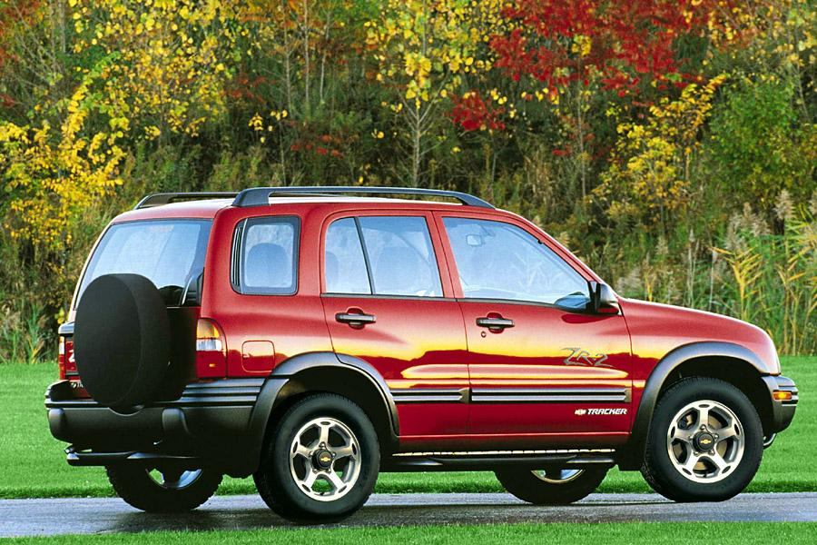 2001 Chevrolet Tracker Photo 5 of 14