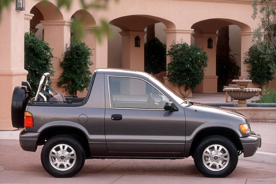 2001 Kia Sportage Photo 3 of 9