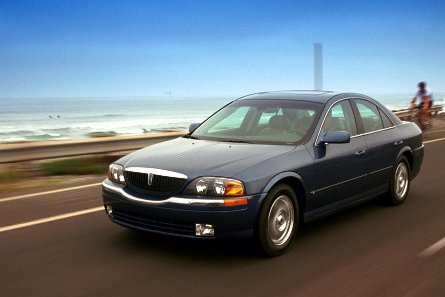 2001 Lincoln LS Photo 4 of 14