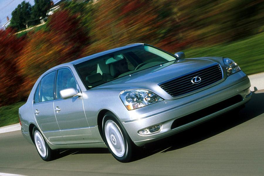 2001 Lexus Ls 430 Overview