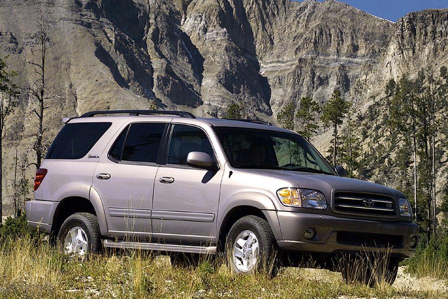 2001 Toyota Sequoia Photo 3 of 10