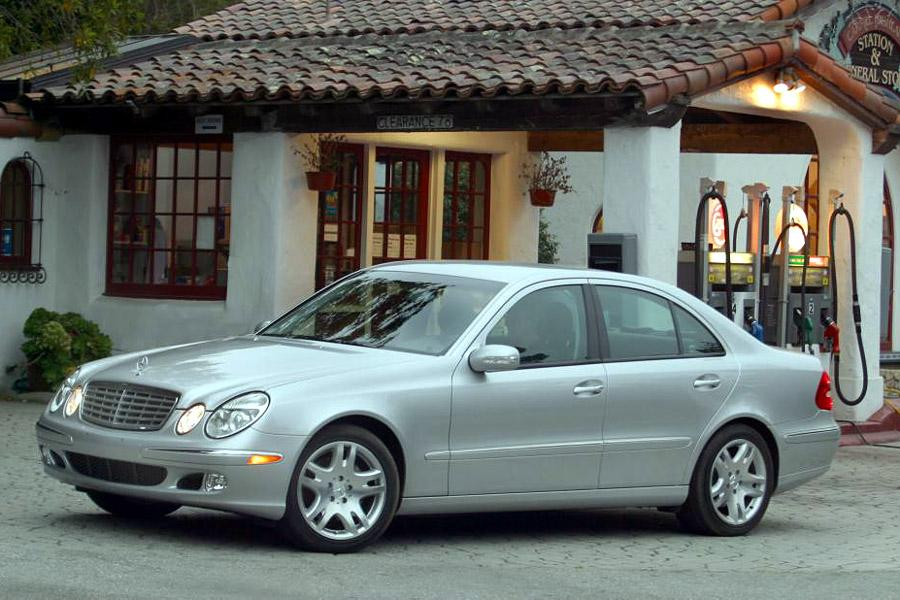 2003 mercedes benz e class overview. Black Bedroom Furniture Sets. Home Design Ideas