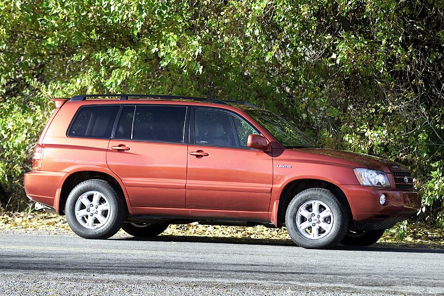 2002 Toyota Highlander Overview Cars Com