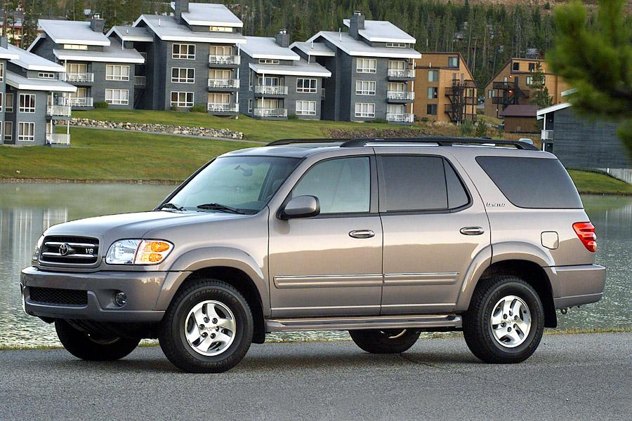 2002 toyota sequoia overview. Black Bedroom Furniture Sets. Home Design Ideas