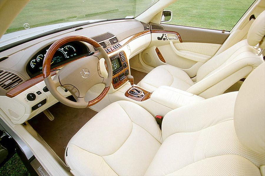 2002 Mercedes-Benz S-Class Photo 5 of 5
