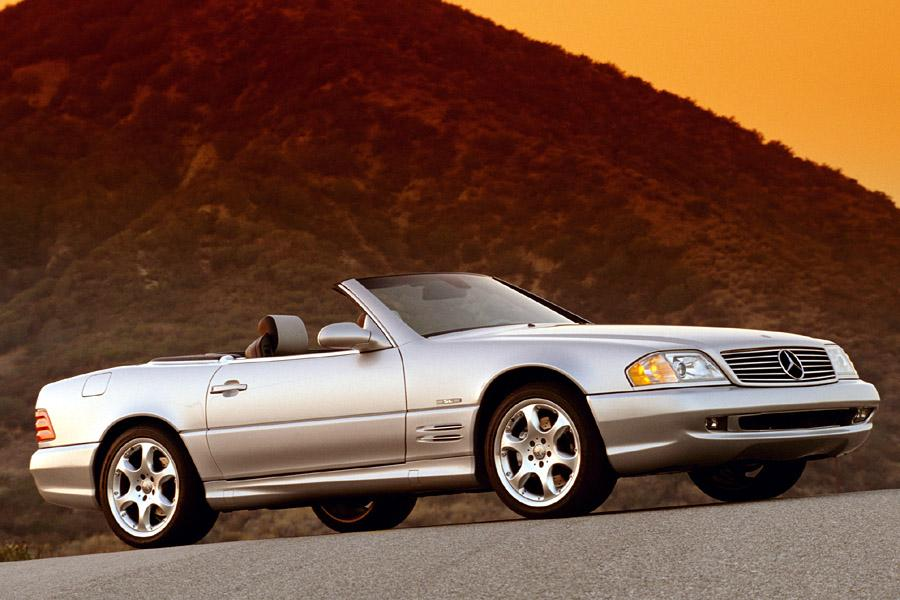 2002 Mercedes-Benz SL-Class Photo 4 of 6