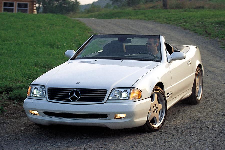 2002 Mercedes-Benz SL-Class Photo 1 of 6
