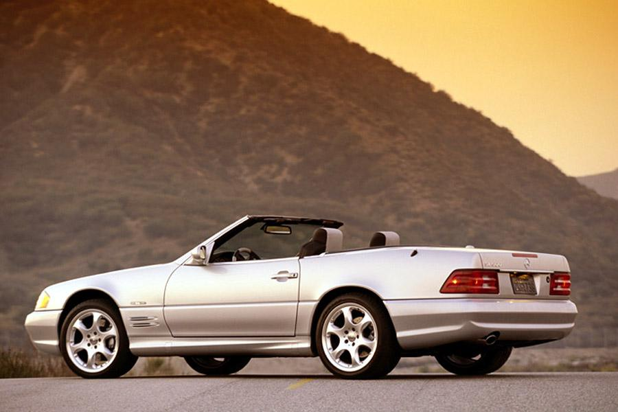 2002 Mercedes-Benz SL-Class Photo 5 of 6