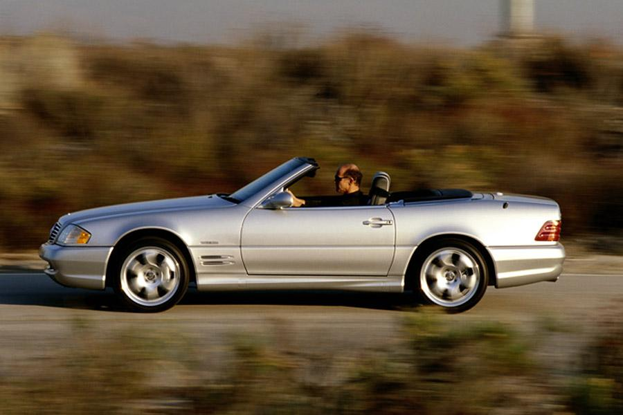 2002 Mercedes-Benz SL-Class Photo 2 of 6