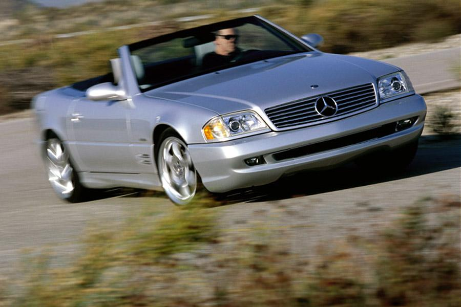 2002 Mercedes-Benz SL-Class Photo 3 of 6