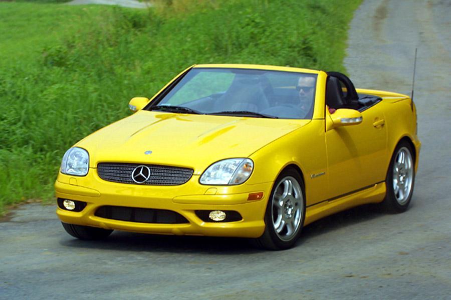 2002 Mercedes-Benz SLK-Class Photo 1 of 5