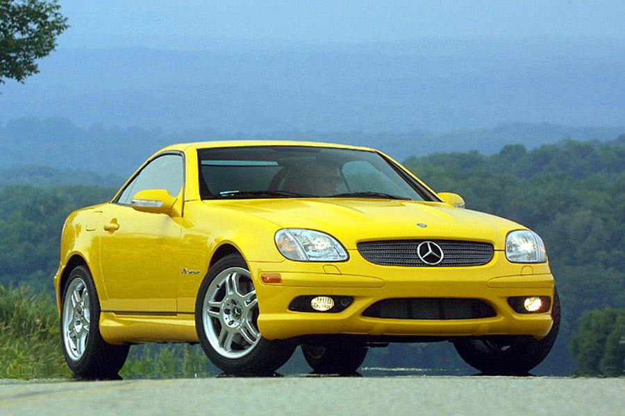 2002 Mercedes-Benz SLK-Class Photo 4 of 5