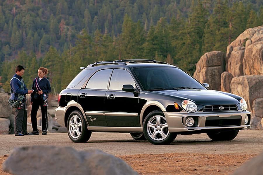 2002 Subaru Outback Photo 4 of 5