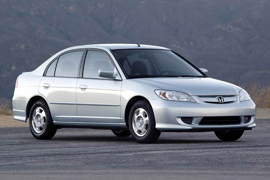 2004 honda civic hybrid overview for Certified used honda civic
