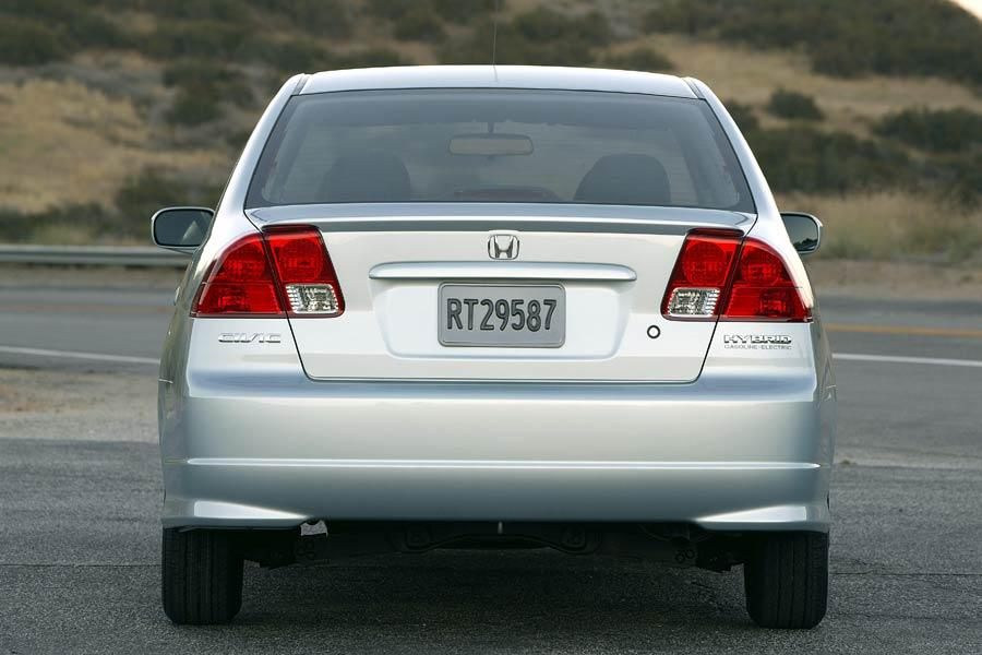 2004 Honda Civic Hybrid Photo 5 of 9