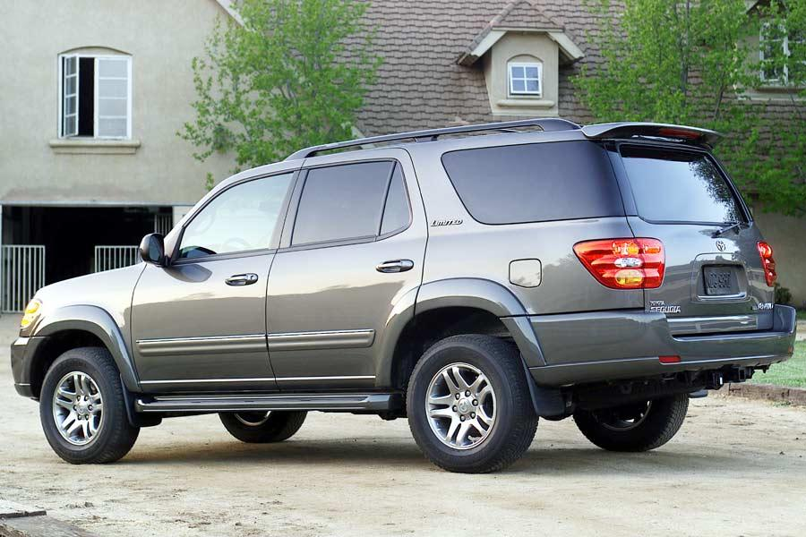 2004 toyota sequoia specs pictures trims colors. Black Bedroom Furniture Sets. Home Design Ideas