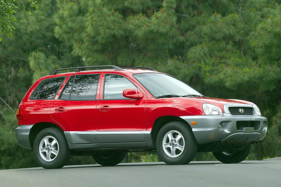 2004 Hyundai Santa Fe Photo 4 of 9