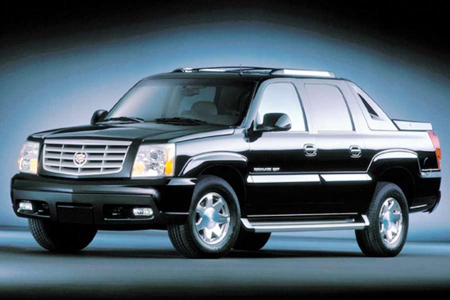 2004 cadillac escalade ext overview. Black Bedroom Furniture Sets. Home Design Ideas