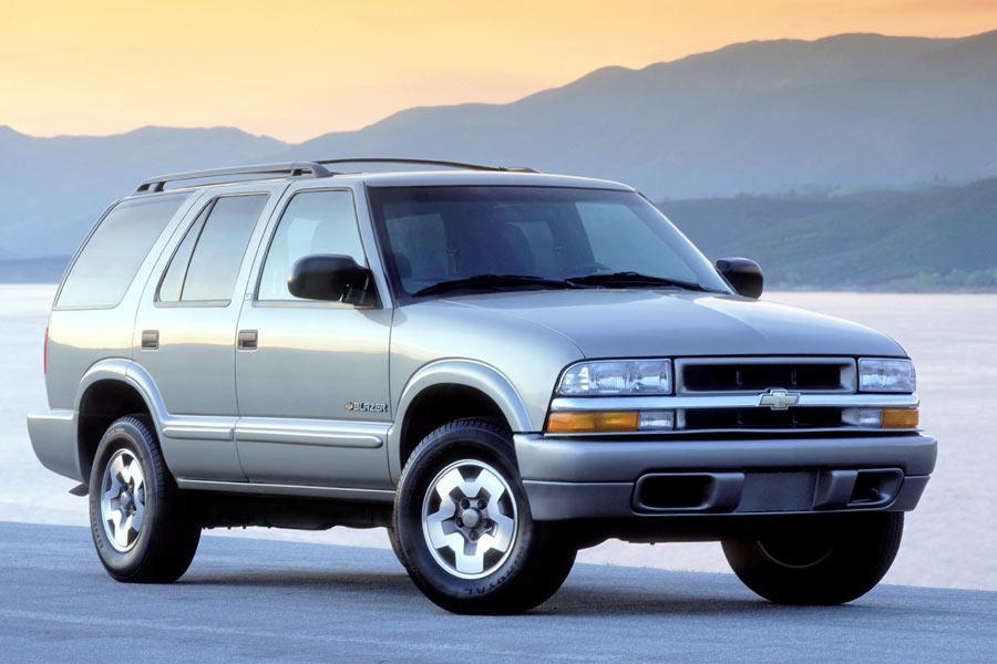 on 2004 Chevrolet Blazer