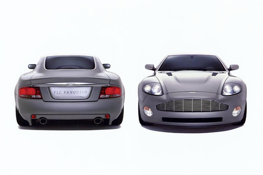 2004 Aston Martin V12 Vanquish Photo 6 of 8