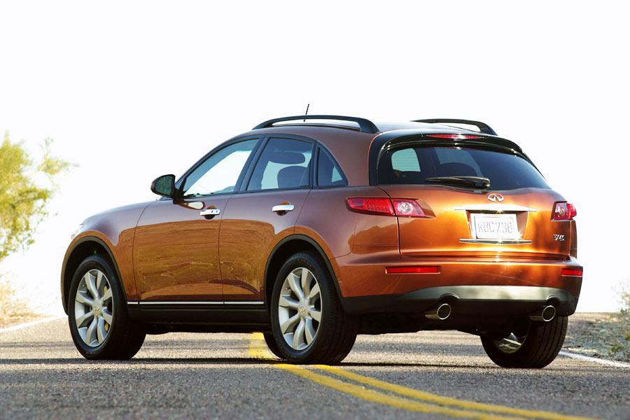 Radiator Repair Cost >> 2004 INFINITI FX45 Overview | Cars.com