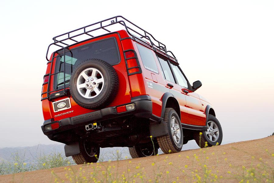 2004 Land Rover Discovery Photo 3 of 11