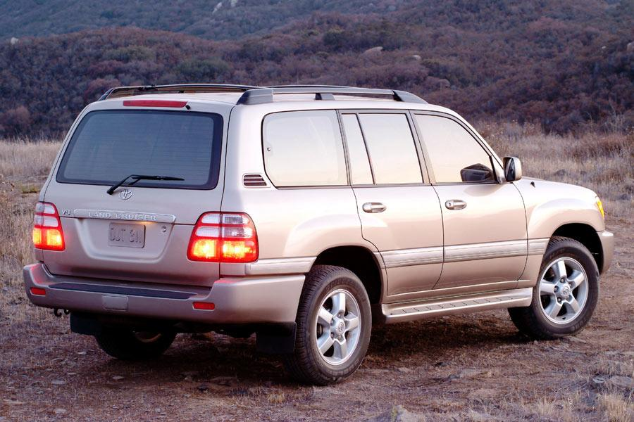2004 Toyota Land Cruiser Overview Cars Com