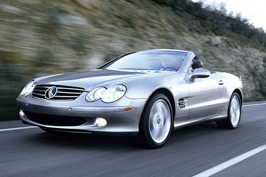 2004 mercedes benz sl class overview. Black Bedroom Furniture Sets. Home Design Ideas