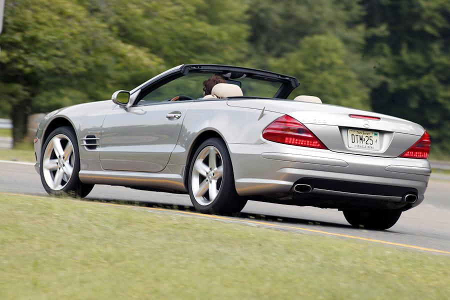 2004 Mercedes-Benz SL-Class Photo 4 of 8