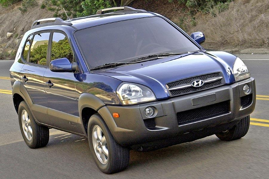 2005 Hyundai Tucson Photo 2 of 8