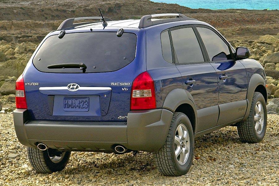 2005 Hyundai Tucson Photo 3 of 8