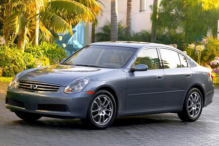 2005 Infiniti G35 Overview Cars Com