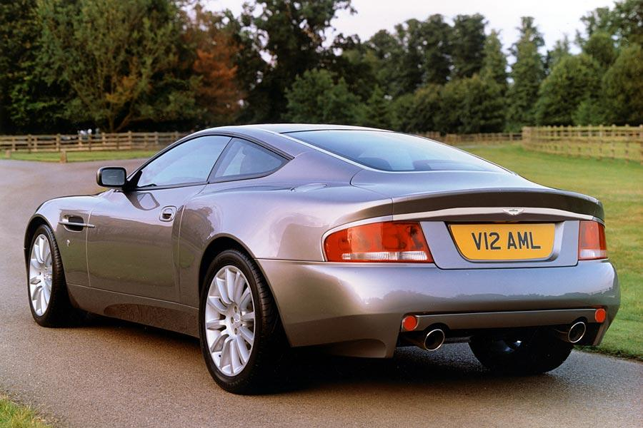 2005 Aston Martin V12 Vanquish Photo 3 of 10