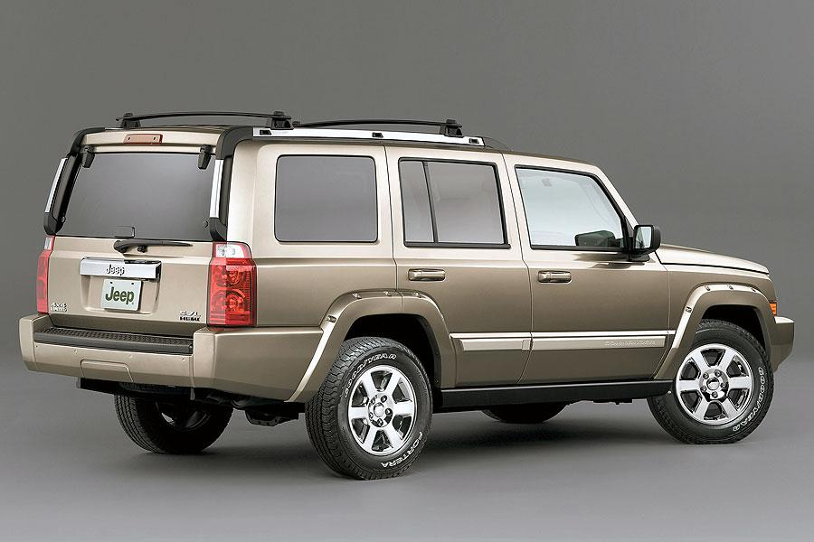 2006 jeep commander reviews specs and prices. Black Bedroom Furniture Sets. Home Design Ideas