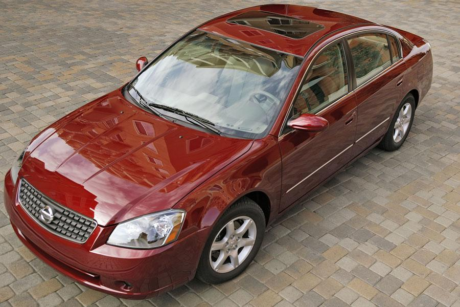 2006 nissan altima specs pictures trims colors. Black Bedroom Furniture Sets. Home Design Ideas