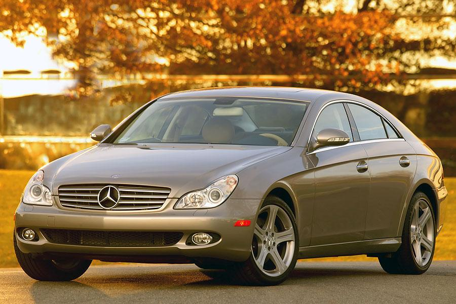 2007 mercedes benz cls class overview. Black Bedroom Furniture Sets. Home Design Ideas