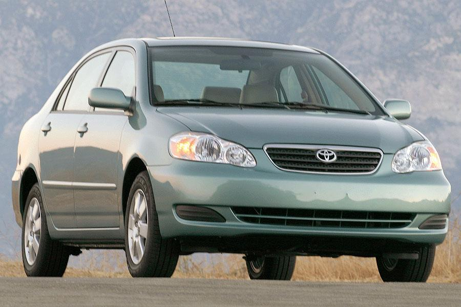 2006 toyota corolla overview. Black Bedroom Furniture Sets. Home Design Ideas