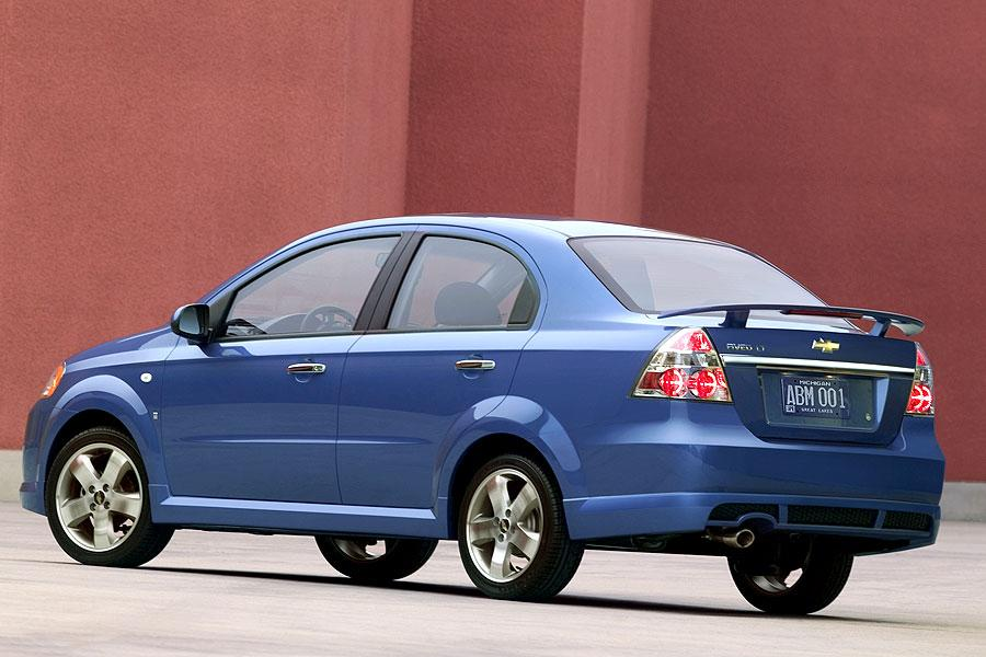 2007 chevrolet aveo specs pictures trims colors. Black Bedroom Furniture Sets. Home Design Ideas