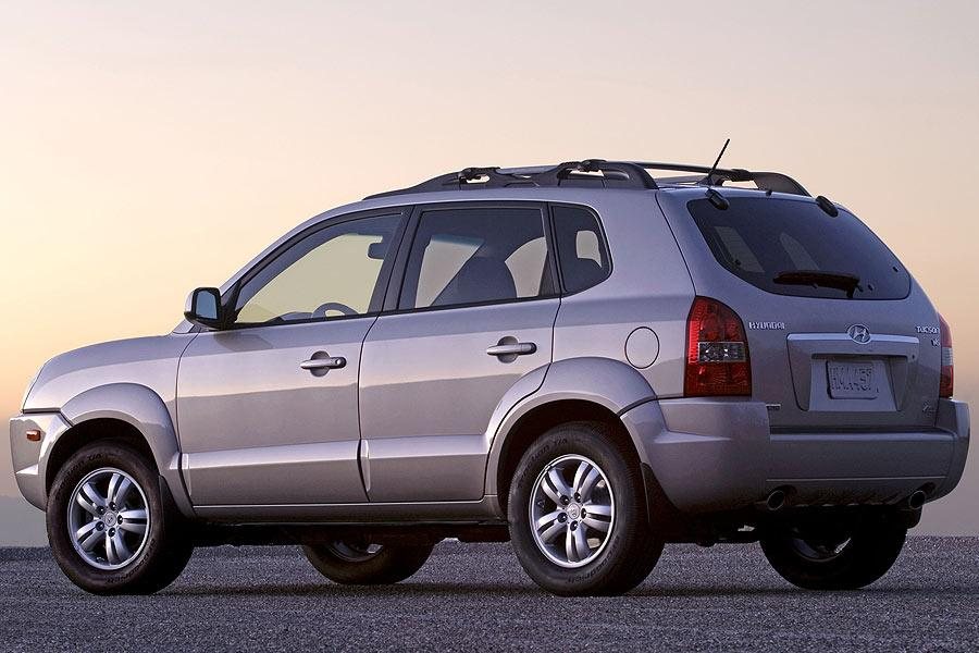 2007 hyundai tucson reviews specs and prices. Black Bedroom Furniture Sets. Home Design Ideas