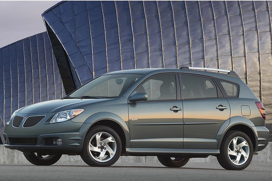 2007 Pontiac Vibe Overview Cars Com