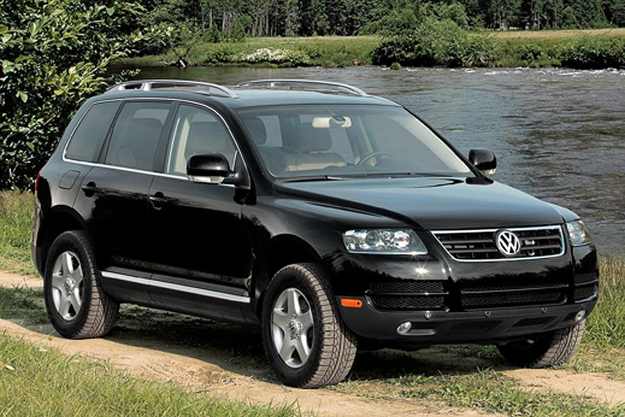 2007 volkswagen touareg overview. Black Bedroom Furniture Sets. Home Design Ideas