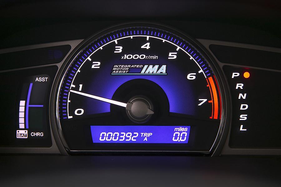 2007 Honda Civic Hybrid Photo 6 of 9