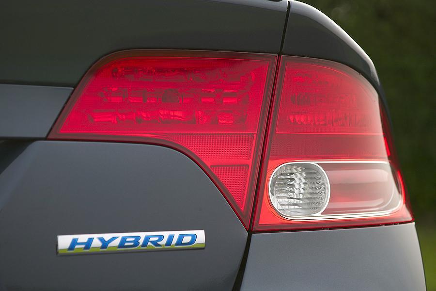 2007 Honda Civic Hybrid Photo 5 of 9