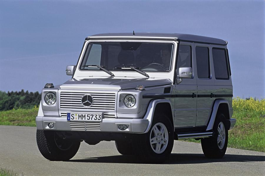 2008 mercedes benz g class overview