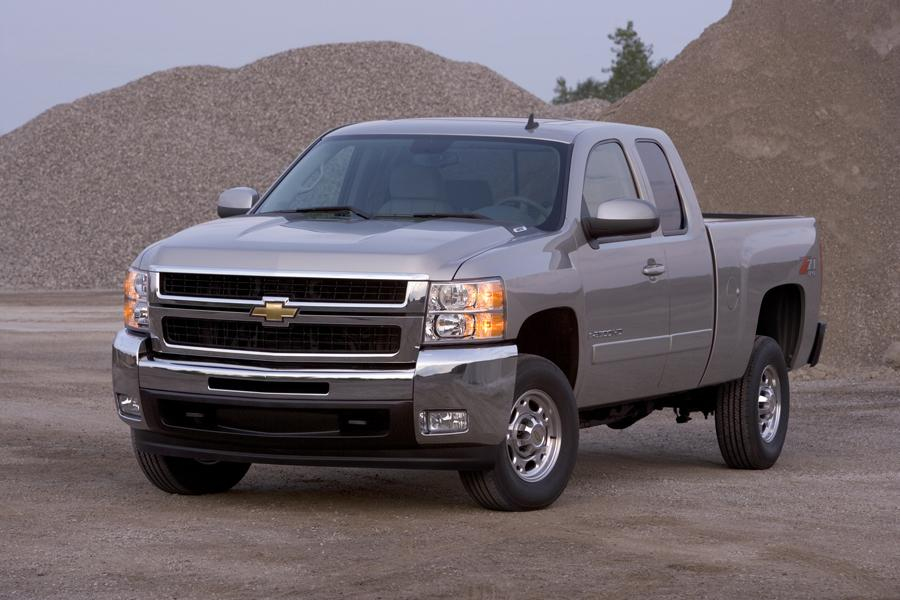 Chevy Silverado Crash Test