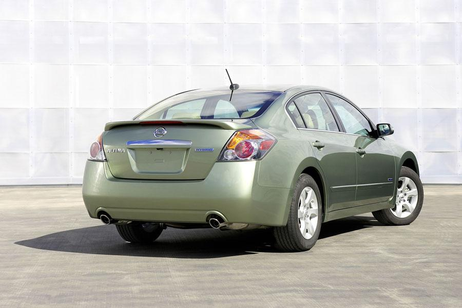 2008 Nissan Altima Hybrid Overview Cars Com